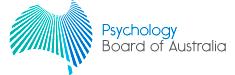 Pyschology Board of Australia