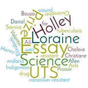Loraine Holley Essay Prize wordcloud
