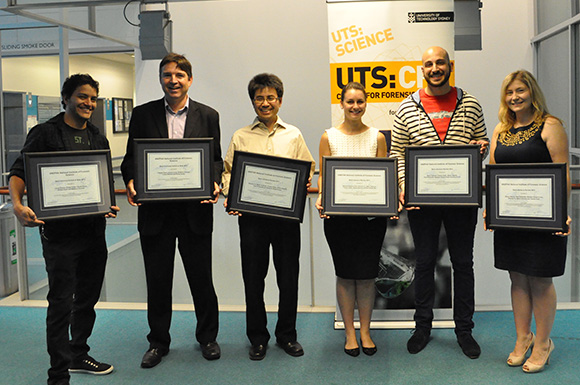UTS Forensic Science papers receive national awards