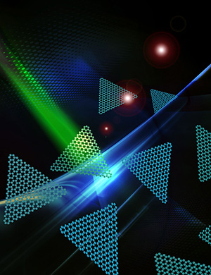 Two dimensional nano-flakes emit red photons for quantum communication technologies