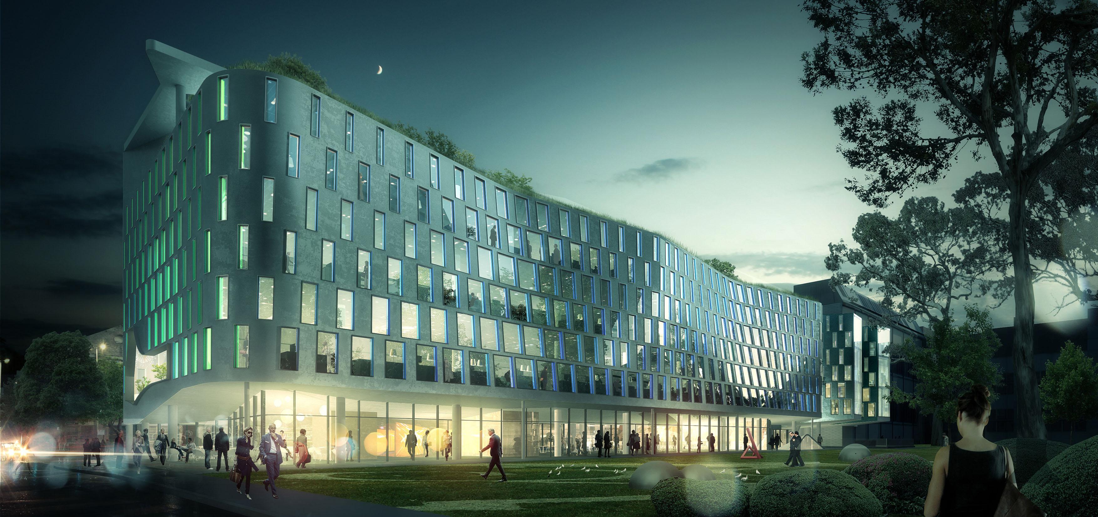 architectural renders university of technology sydney