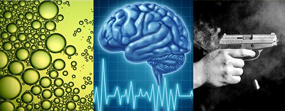 UTS Science in Focus: Microalgae, the brain and gunshot residue analysis