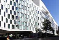 Facade of Science and Graduate School of Health Building