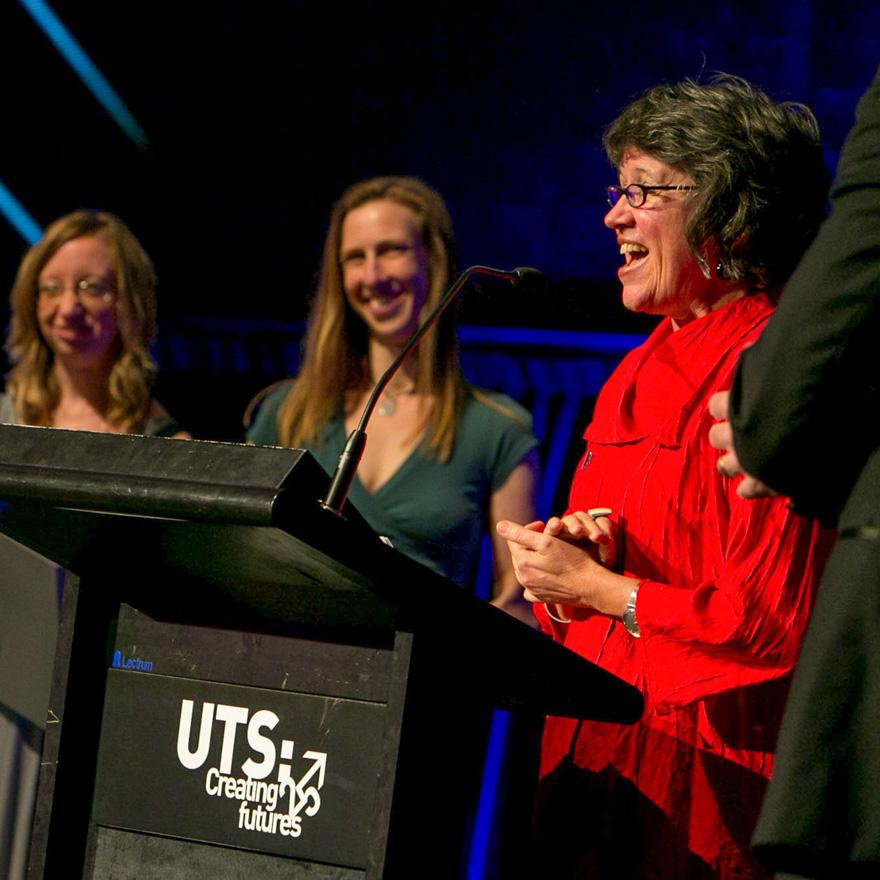 Presentation at the UTS Research Awards 2013