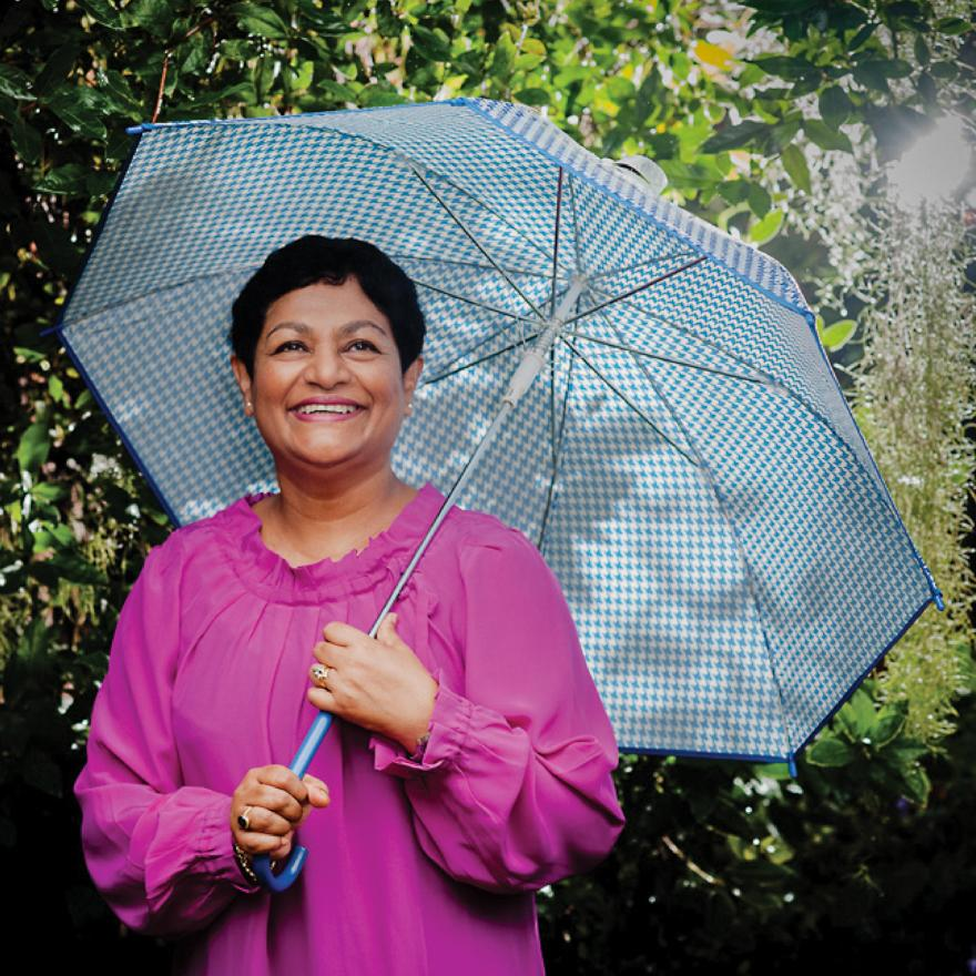 Breast cancer survivor Padmini Peris