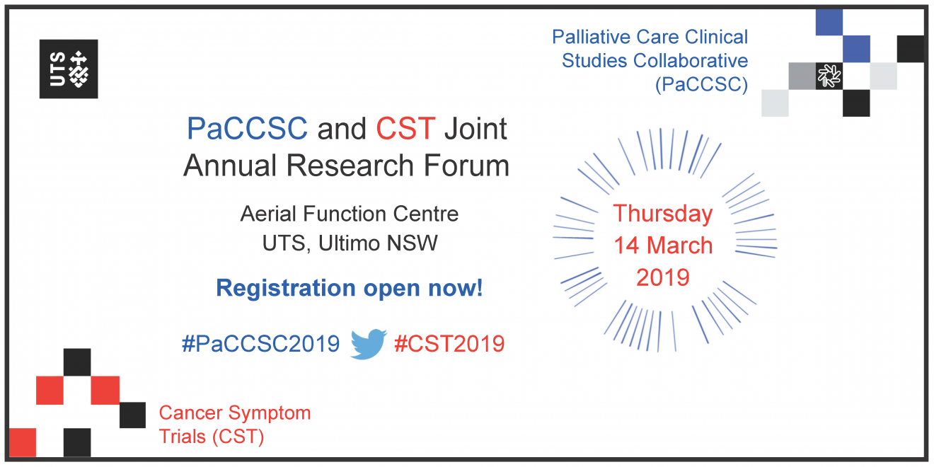 PaCCSC and CST Annual Research Forum 2019