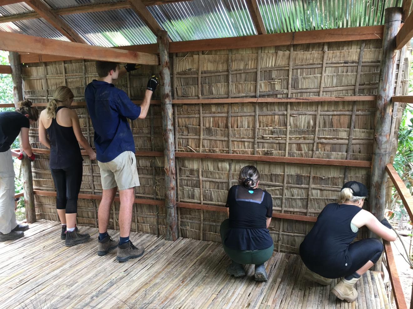 DAB Student Project: Building Houses for Underprivileged Families in Cambodia, by Michael Er