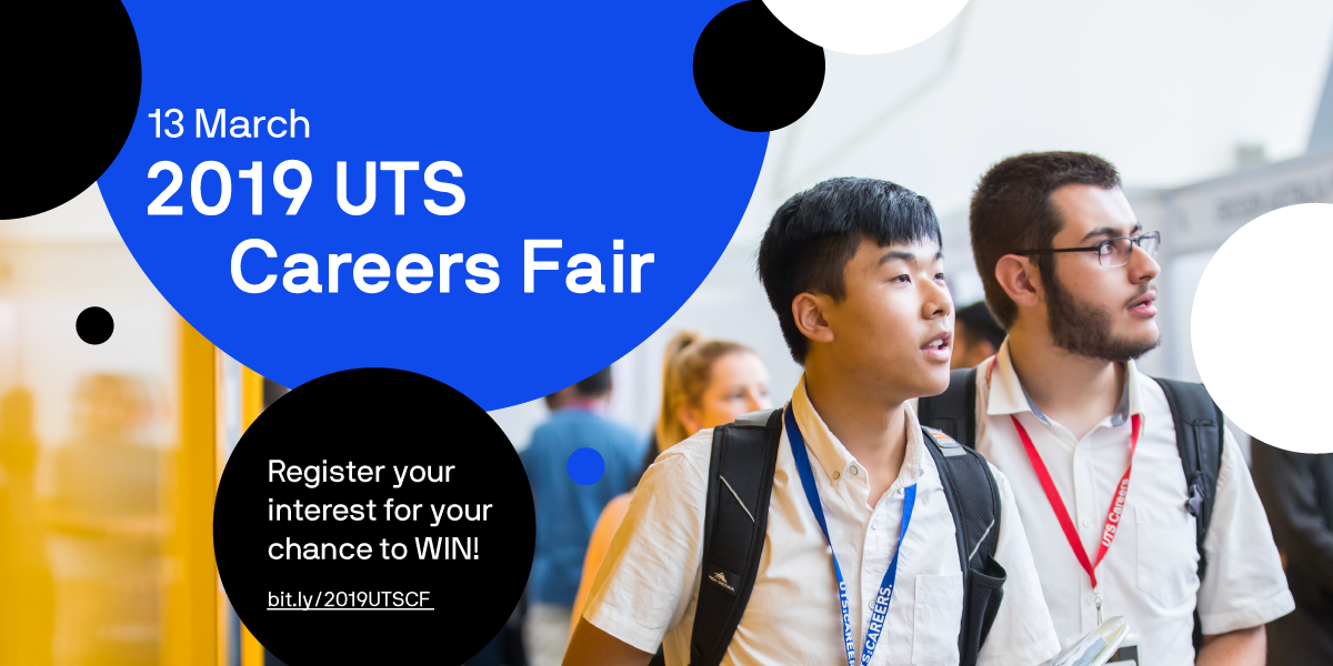 UTS Careers Fair promotion