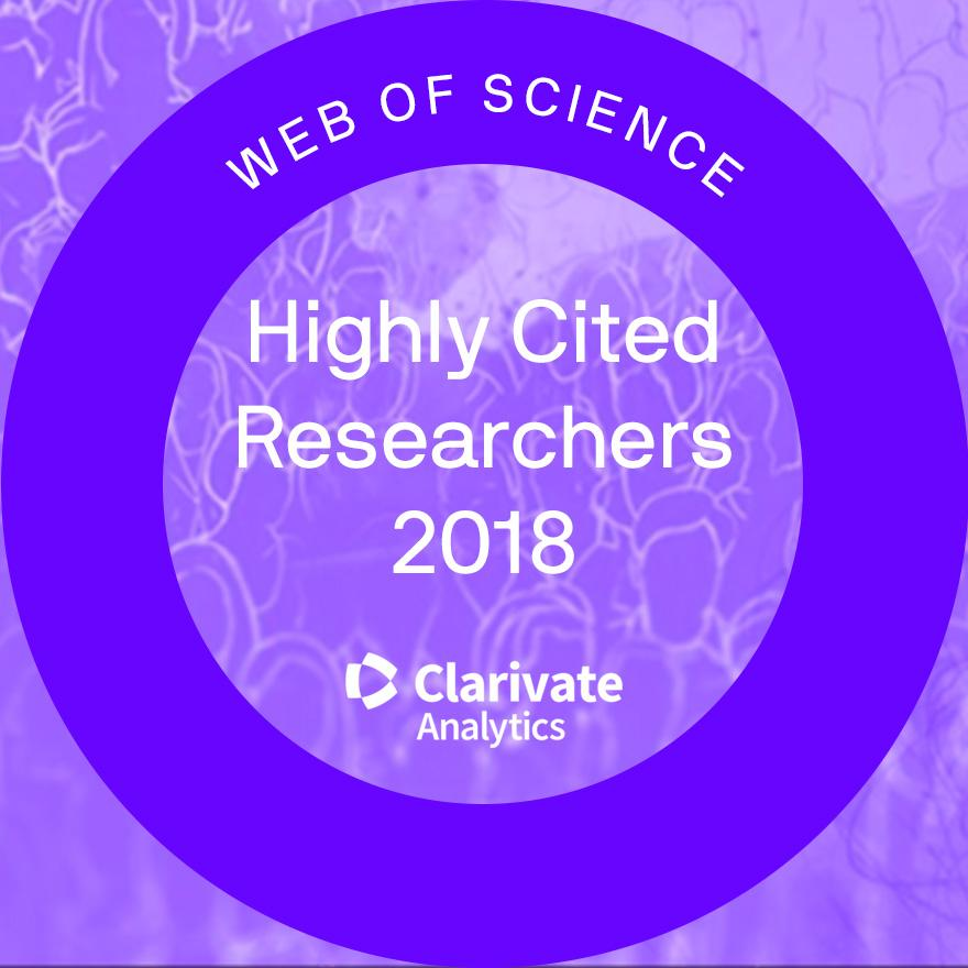 UTS Clarivate Analytics award Highly Cited Researchers 2018