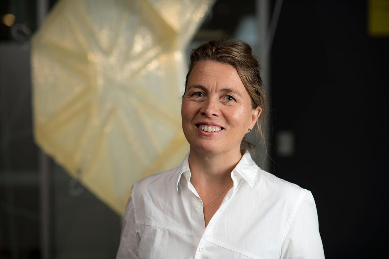 Francesca Hughes, Head of Architecture pictured