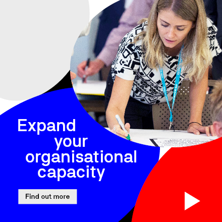 Expand Your Organisational Capacity tile