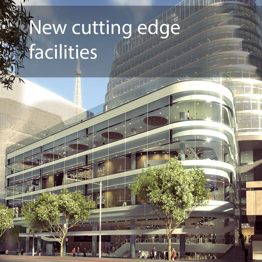 New cutting edge facilities