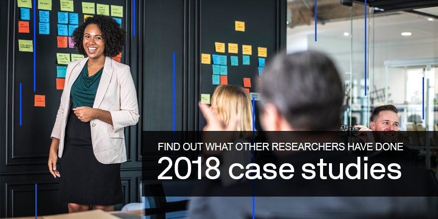 2018 Case studies - find out what other researchers have done