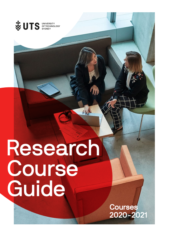 UTS Research course guide 2020-2021
