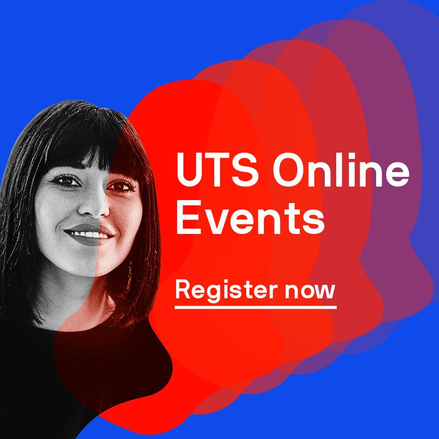 UTS Online Events – Register now