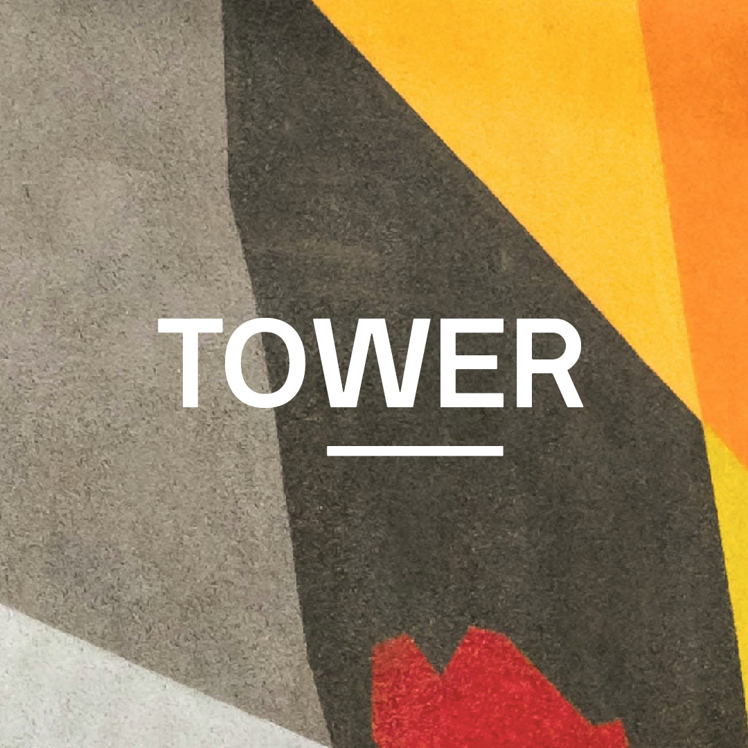 TOWER graphic tile