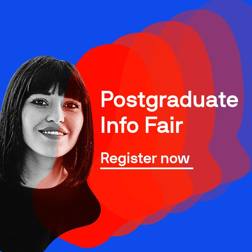 postgraduate info fair register now