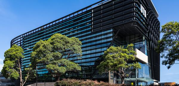 Photo of the UTS Rugby Australia Building