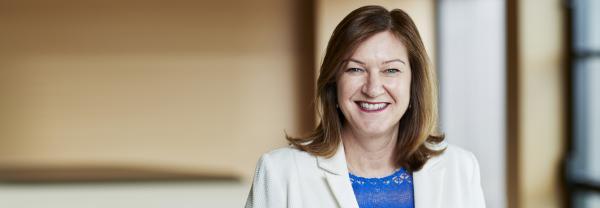 Women in leadership ambassador for business headshot
