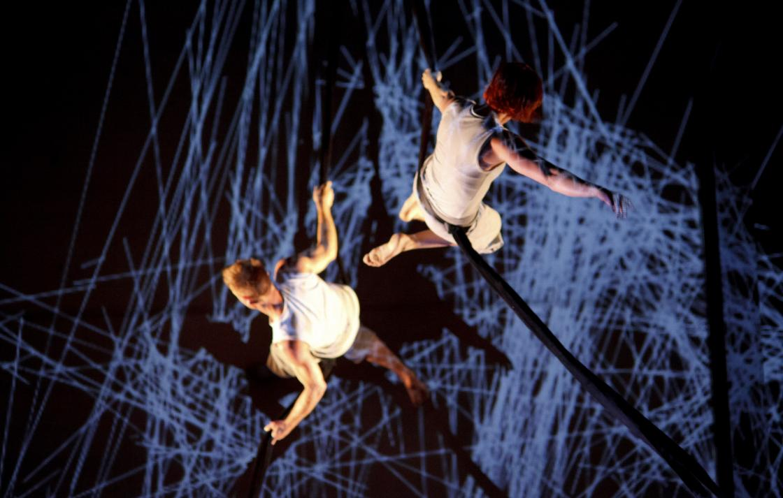Encoded - virtual - performers in the air