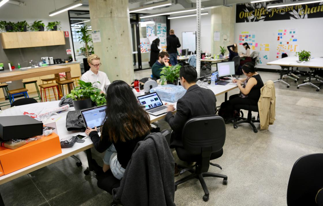 Hatchery Accelerate co-working space