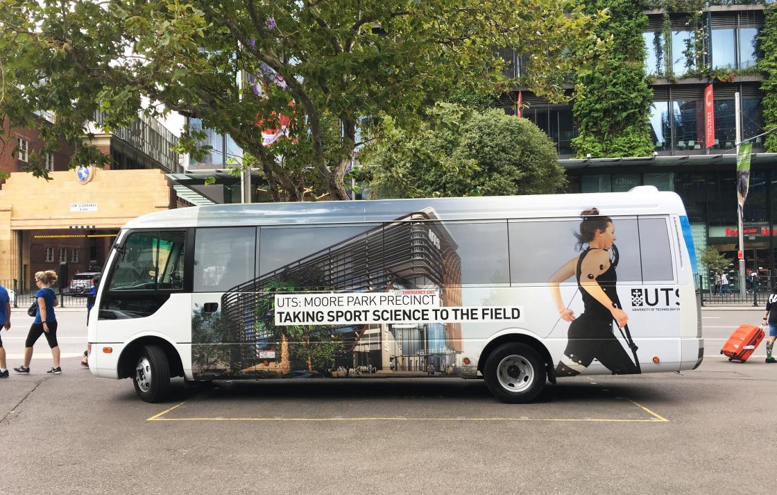Moore Park shuttle bus