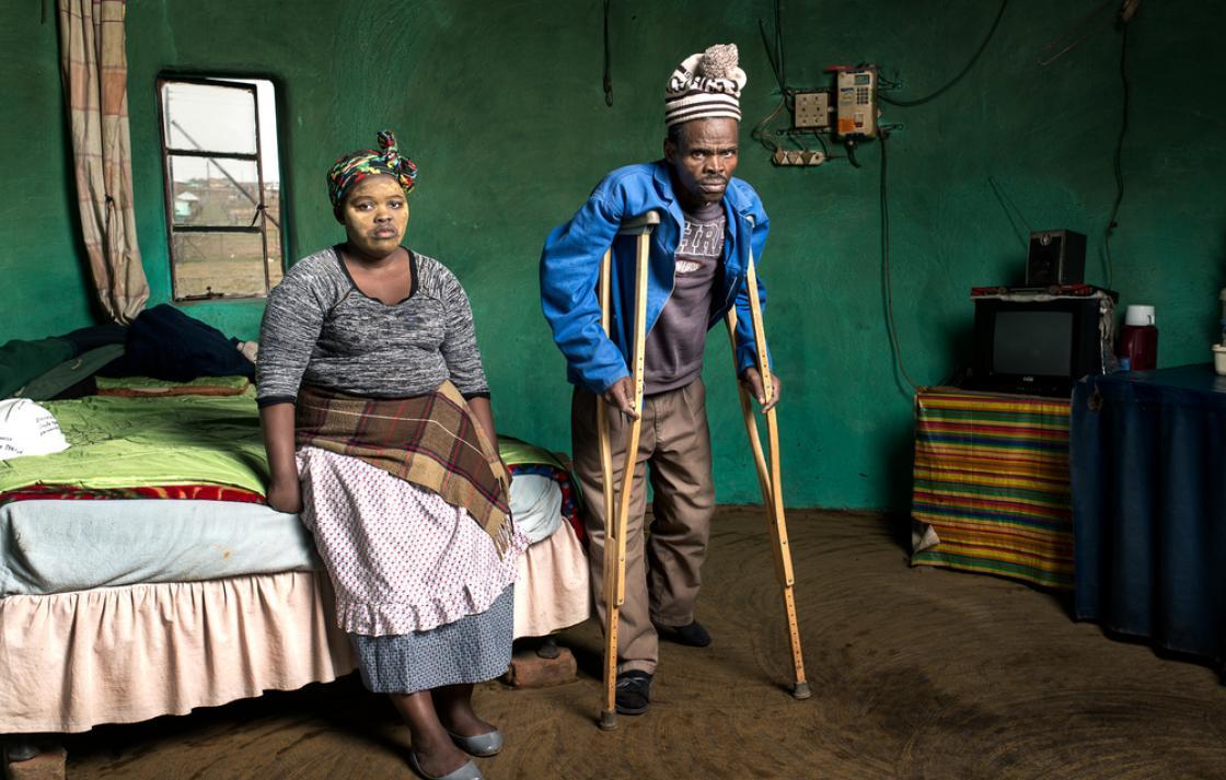 Photo: Patrick Sitwayi and Asive Bingwa, 2015. Copyright: Thom Pierce