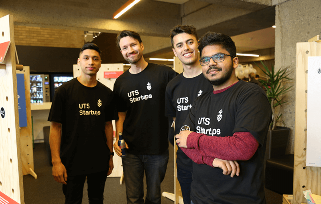 UTS Startups team at OpenDay