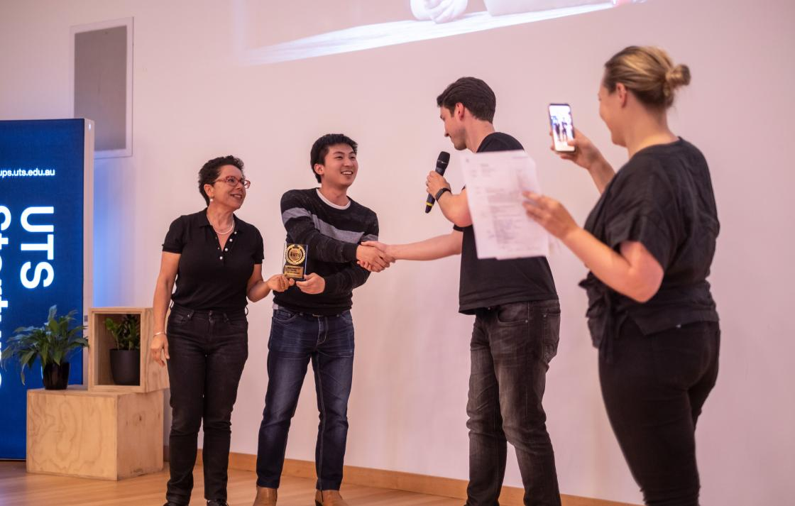 UTS Startups Awards Faculty of Transdisciplinary Innovation