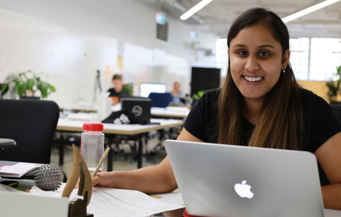 UTS startup intern