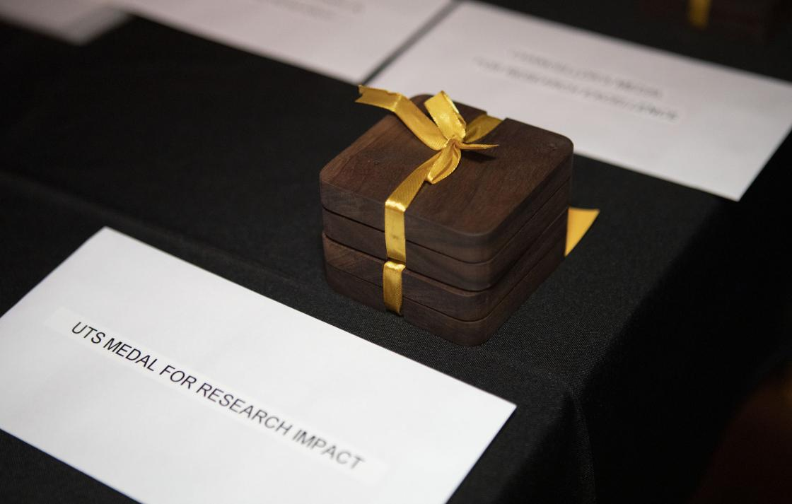 UTS medal for research impact award