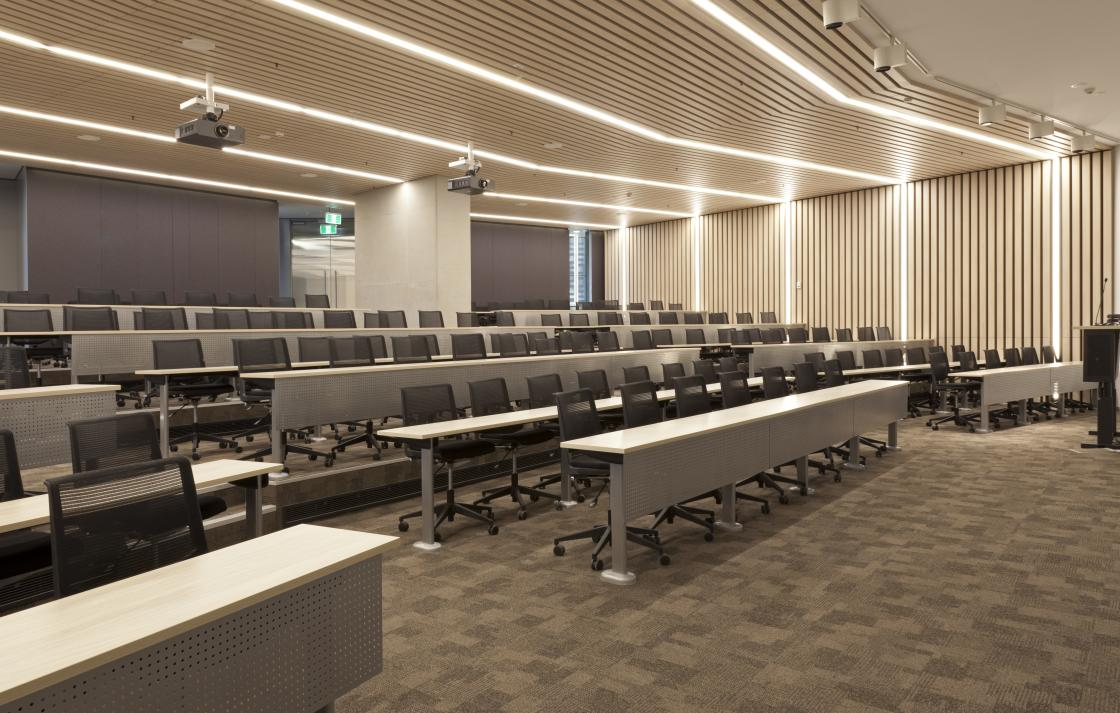 Lecture Theatre Located in the Broadway Building