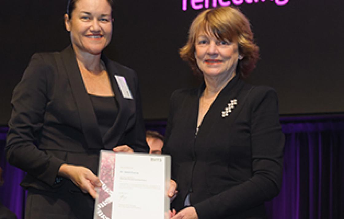 Dr Janet Currie and Professor Shirley Alexander