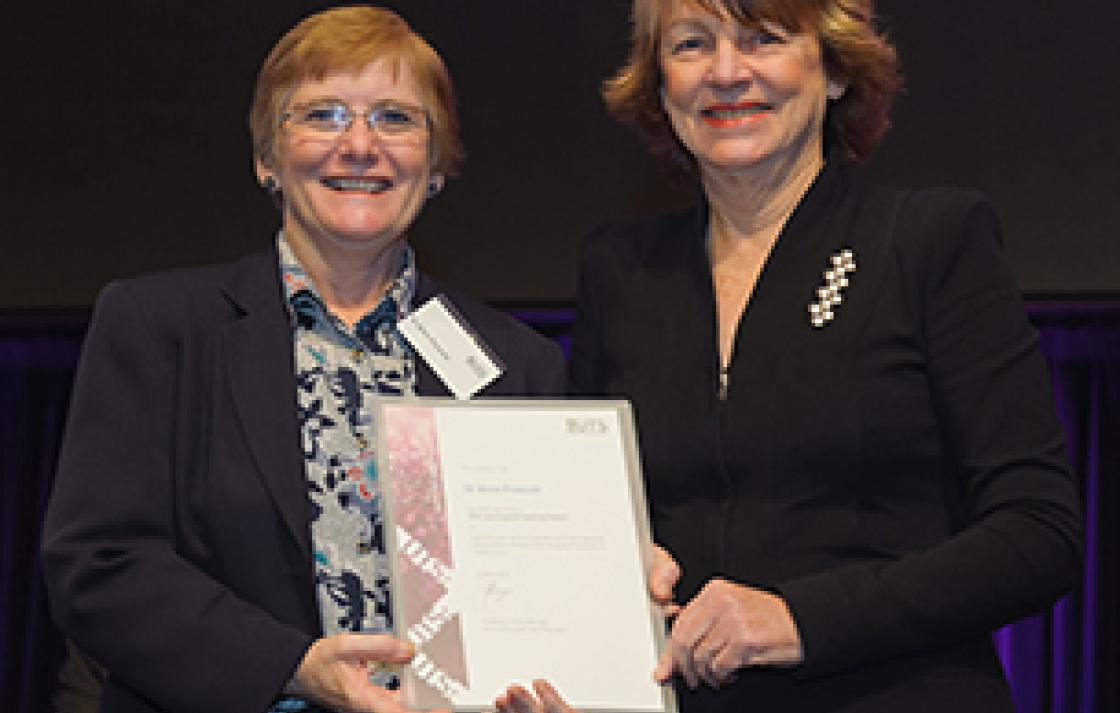 Dr Anne Prescott and Professor Shirley Alexander