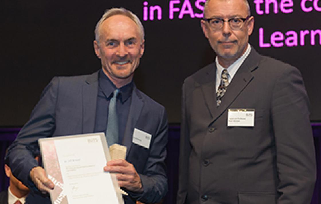 Dr Jeff Browitt and Associate Professor Paul Allatson