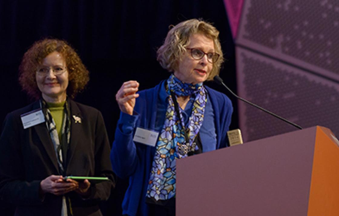 Dr Kathy Egea and Associate Professor Jo McKenzie