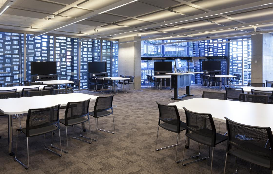 Collaborative Classroom Employment ~ Venues and facilities university of technology sydney