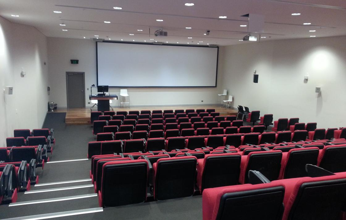 Another one of UTS' modern Lecture Theatres