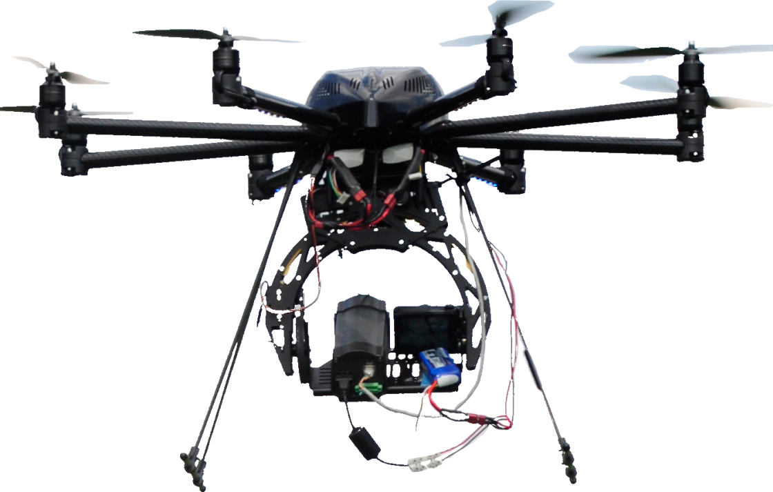 Collaboration Ghent University, Belgium. Dr Wouter Maes produces Water Usage Efficiency maps using helicopter drones equipped with multispectral and thermal cameras.