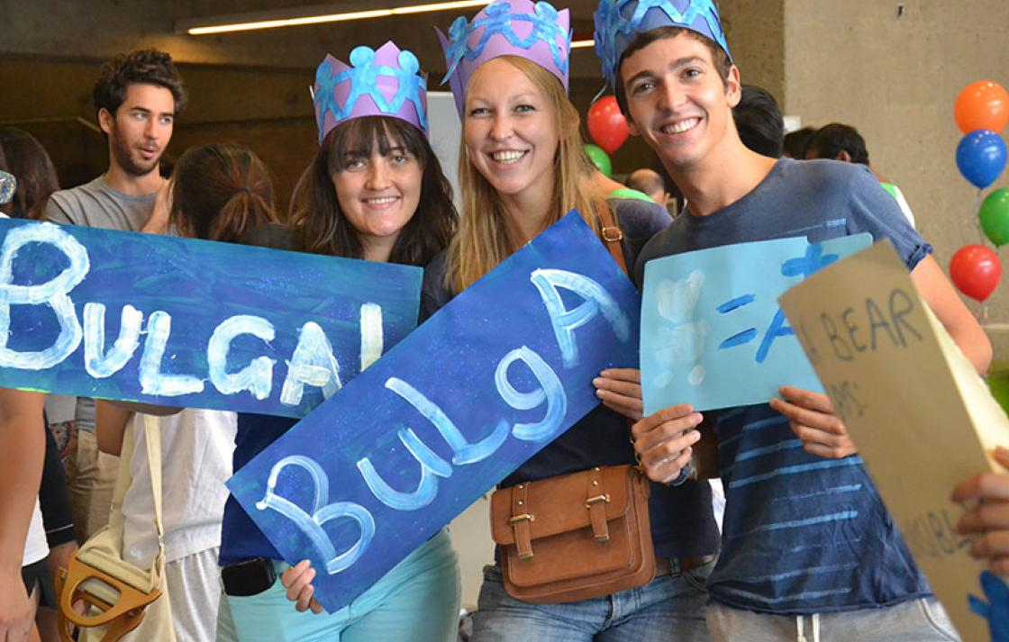 People holding Bulga Ngurra signs