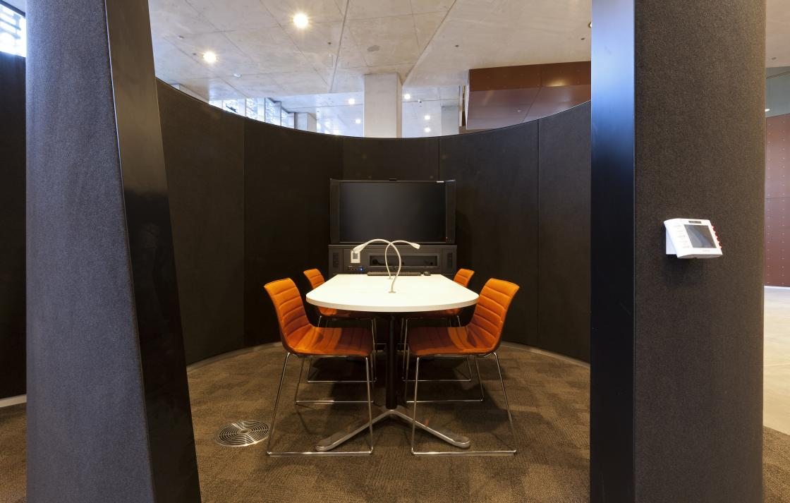 Learning commons pod
