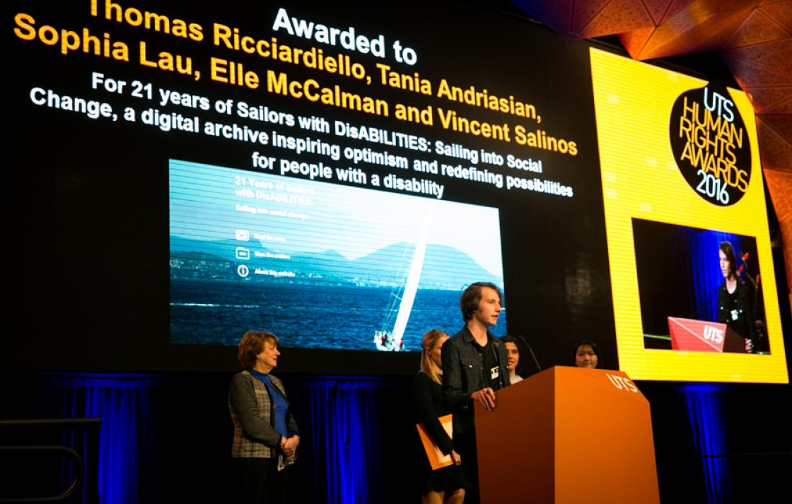 Joint student awardees of the Creative Media Award