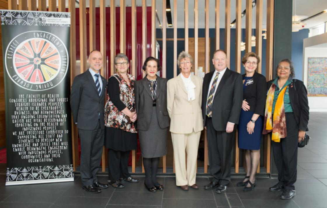 NSW Govenor with UTS executives