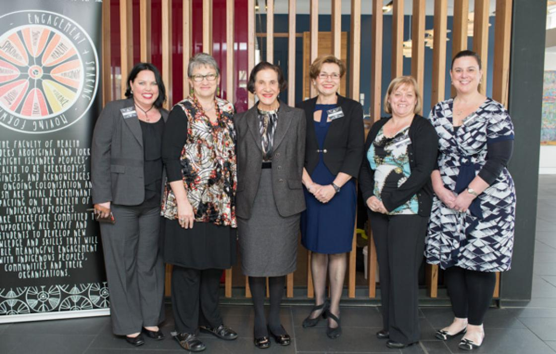 NSW Governor with the Attribute project team