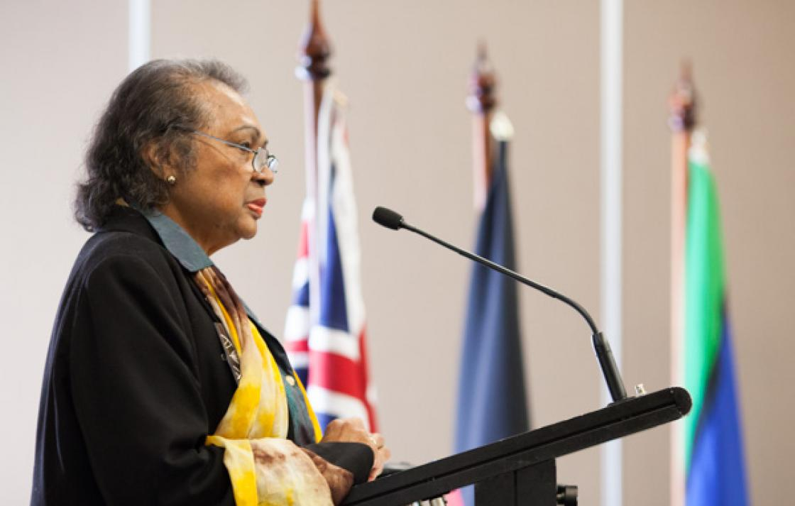Acknowledgement of Country, UTS Elder in Residence, Aunty Joan Tranter