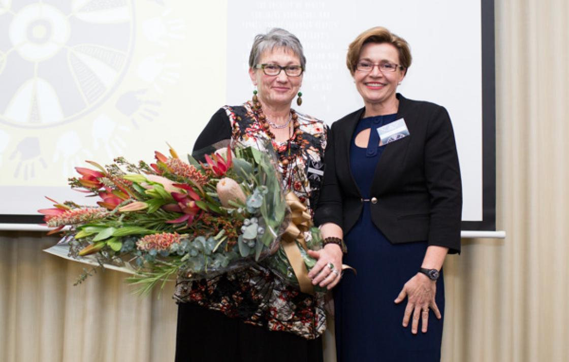 Prof Sherwood's contribution recognised