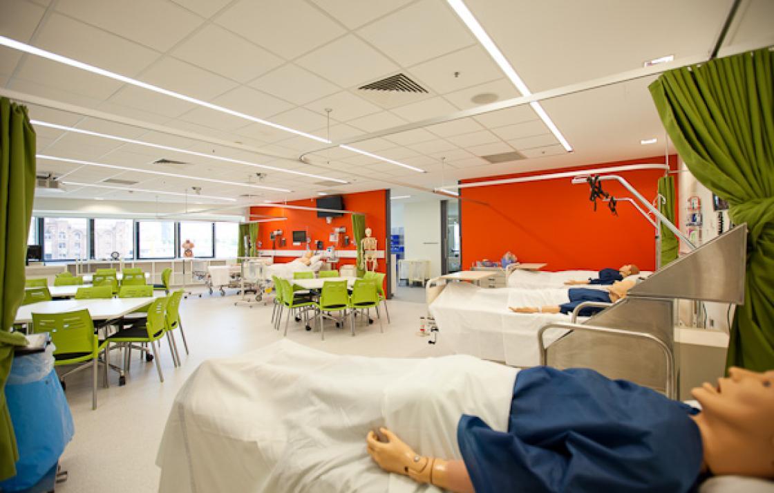 Health simulation lab