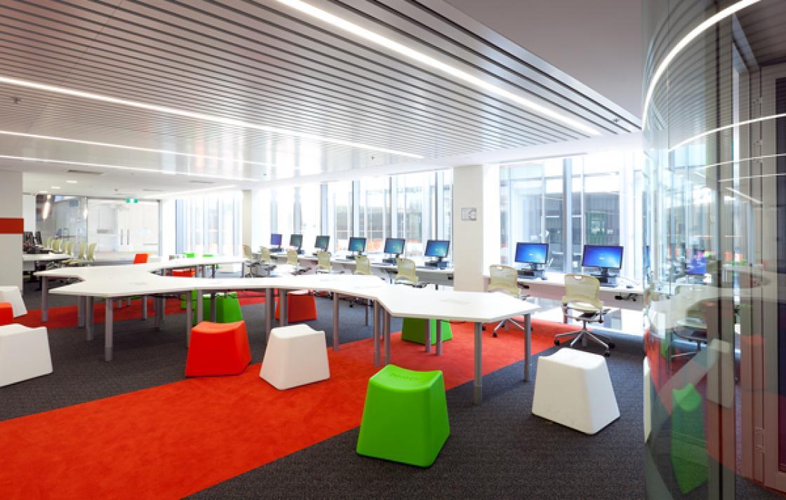 Health student study spaces