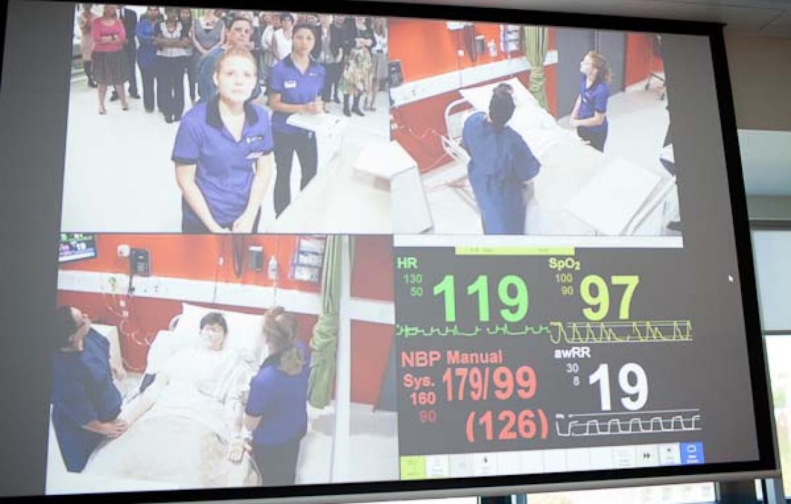 AV facilities, Health simulation labs