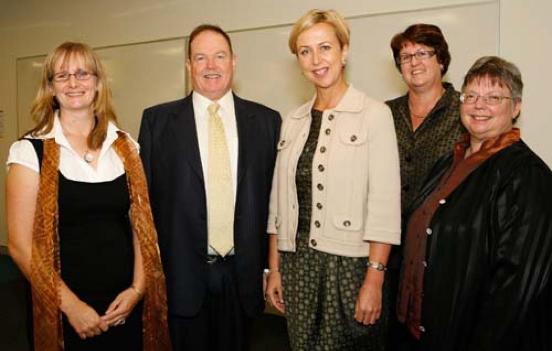 VC Hon. Reba Meagher, Kathy Fritsch, Michele